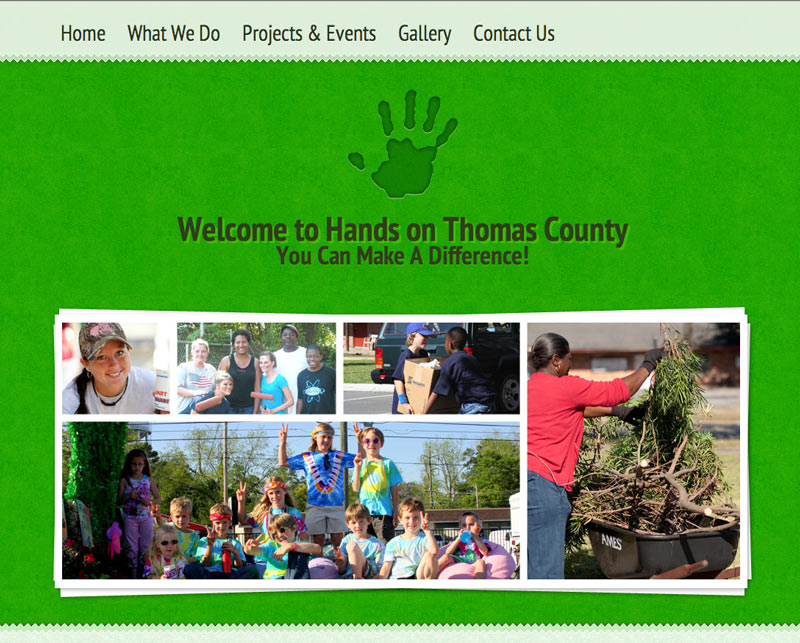 Hands on Thomas County website